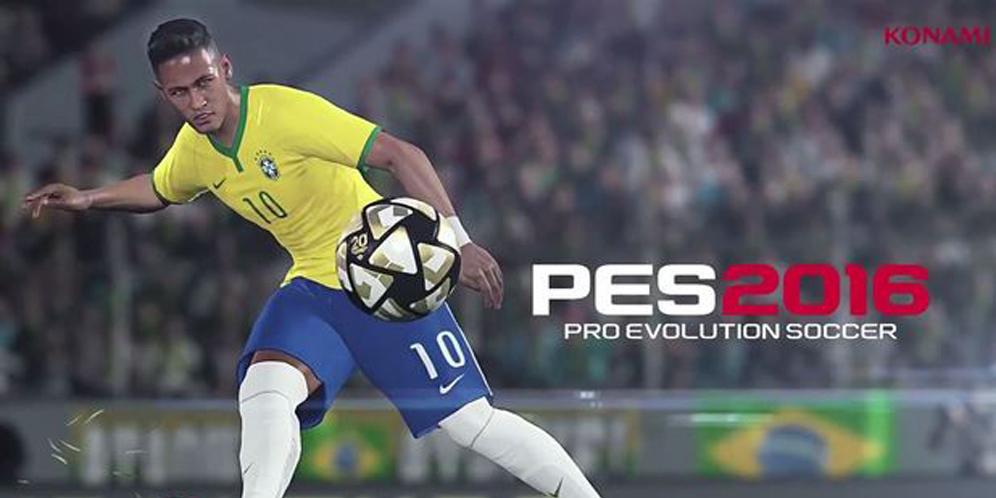 Neymar Pro Evolution Soccer PES 2016
