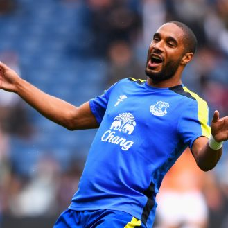 WEST BROMWICH, ENGLAND - AUGUST 20: Ashley Williams of Everton reacts during the Premier League match between West Bromwich Albion and Everton at The Hawthorns on August 20, 2016 in West Bromwich, England.  (Photo by Stu Forster/Getty Images)