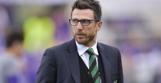 Foto Alfredo Falcone - LaPresse 17/04/2016 Firenze ( Italia) Sport Calcio Fiorentina - Sassuolo Campionato di Calcio Serie A Tim 2015 2016 - Stadio Artemio Franchi di Firenze Nella foto:eusebio di francesco  Photo Alfredo Falcone - LaPresse 14/04/2016 Florence (Italy) Sport Soccer Fiorentina - Sassuolo Italian Football Championship League A Tim 2015 2016 - Artemio Franchi Stadium of Florence In the pic:eusebio di francesco